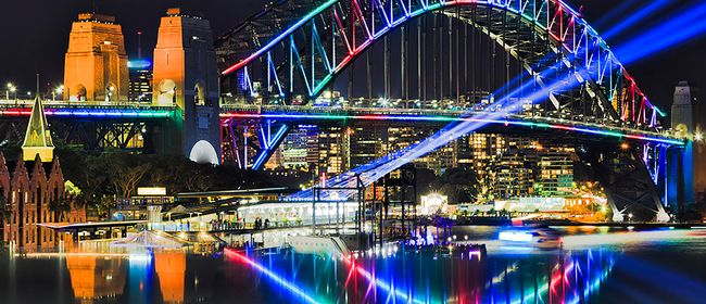 Image for Vivid Sightseeing Cruises - early session 6-7.30pm