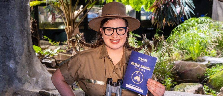 Aussie Animal Passport at the Aquarium