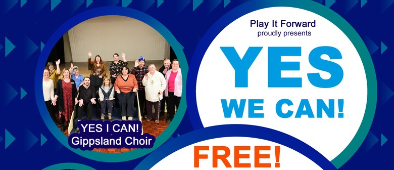 YES WE CAN! Singing Workshop & Performance