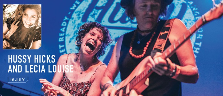 Hussy Hicks and Lecia Louise and Blues & Roots Winter School