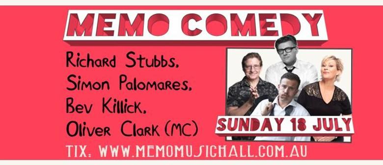 Comedy at MEMO