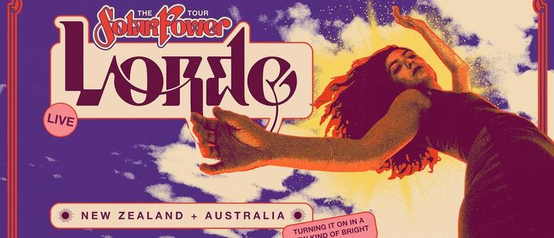 Lorde - Solar Power Australian Tour