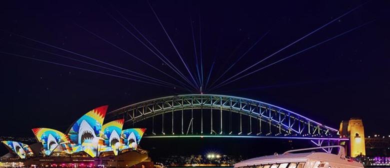 Vivid Sydney 2021 - Vivid Harbour Cruise
