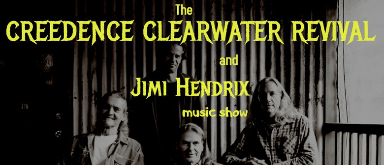 The Creedence Clearwater Revival and Jimi Hendrix Music Show