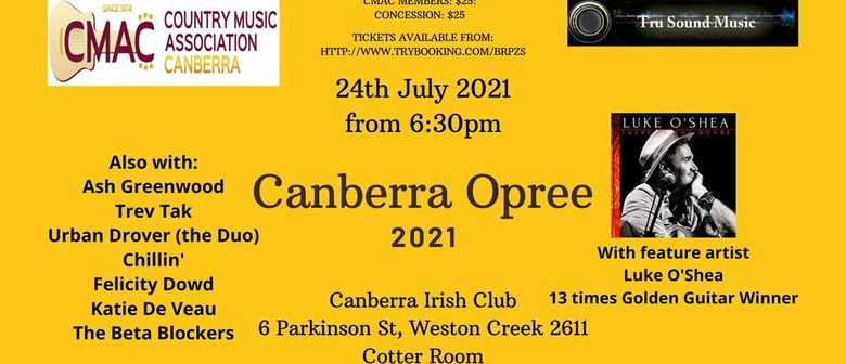 Canberra Opree 2021