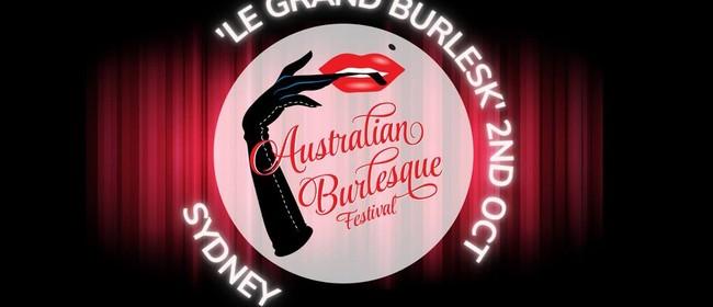 Image for Le Grand Burlesk - The Australian Burlesque Festival