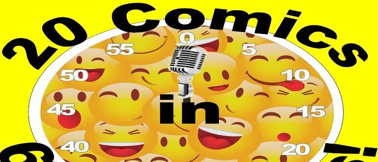 20 Comics In 60 Mins Christmas Comedy Slam