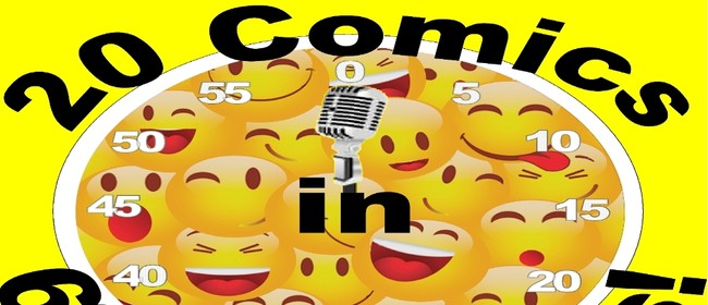 Image for 20 Comics In 60 Mins Christmas Comedy Slam