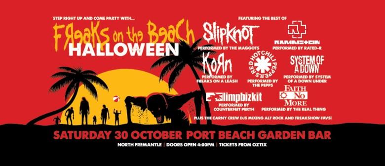 Freaks On the Beach - Halloween