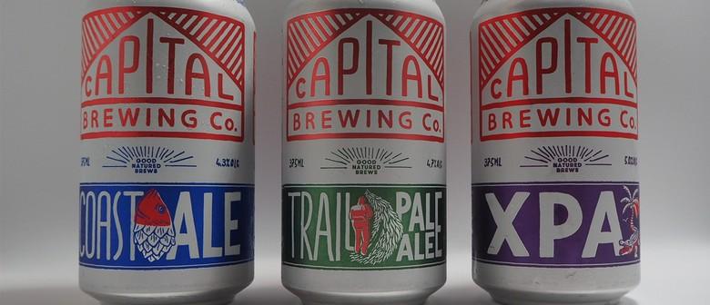 Capital Brewing Beer Dinner