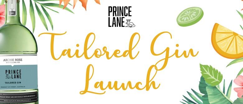 Prince Lane Tailored Gin Launch
