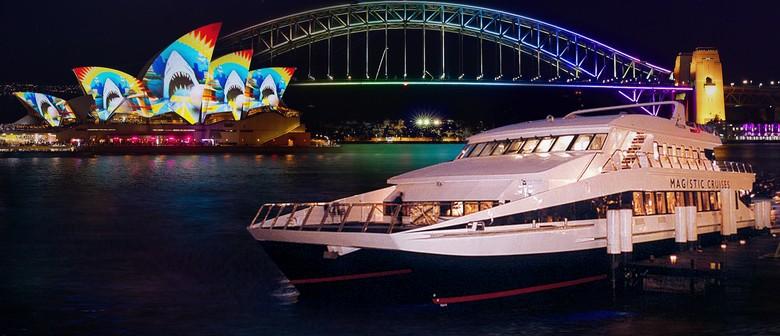 Vivid Sydney 2021 - Celebrate on Board a Luxury Vivid Cruise