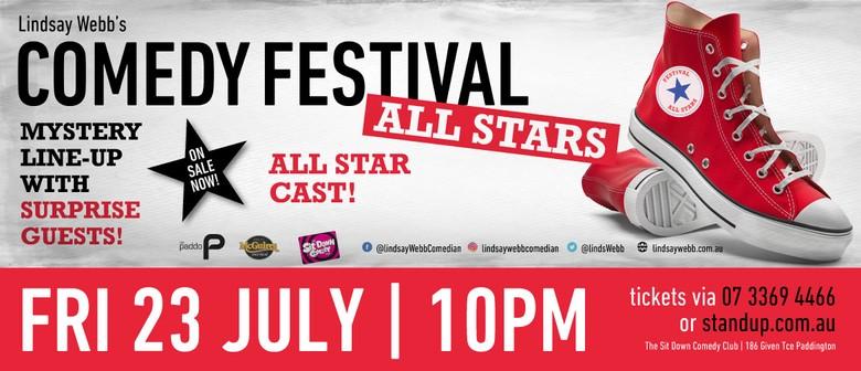 Lindsay Webb's Comedy Festival All Stars