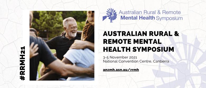 2021 Rural & Remote Mental Health Symposium