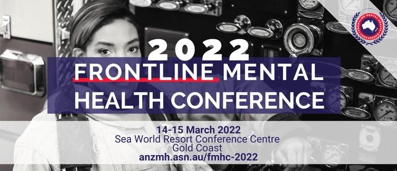 2022 Frontline Mental Health Conference