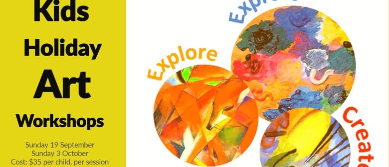 Kids Holiday Art Workshops