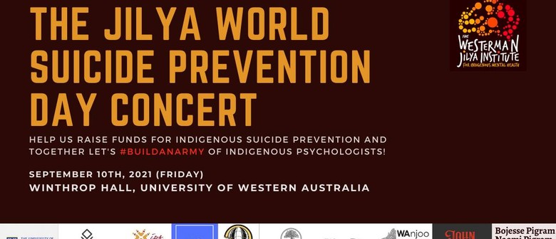 The Jilya World Suicide Prevention Day Fundraising Concert