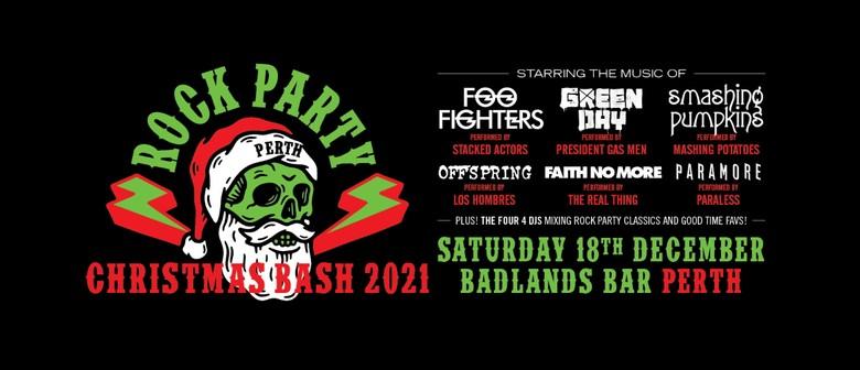 Rock Party Perth - Christmas Bash 2021