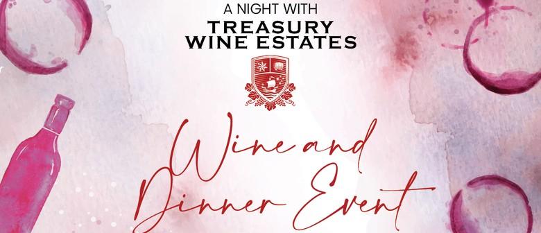 A Night with Treasury Wines