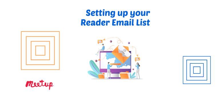 Setting up Your Reader Email Marketing List