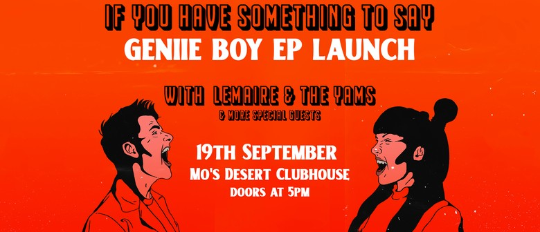 Geniie Boy EP Launch w/ LEMAIRE, The Yams, & guests