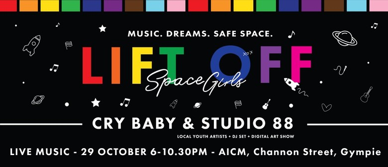 Space Girls Lift Off - Live Music Event