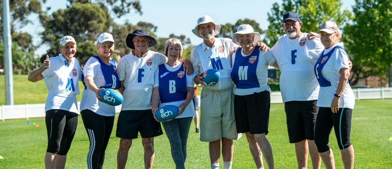 Walking Footy Come and Try - Active Ageing Week