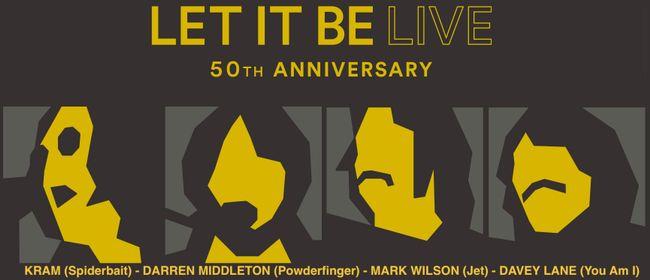 Image for Let It Be Live