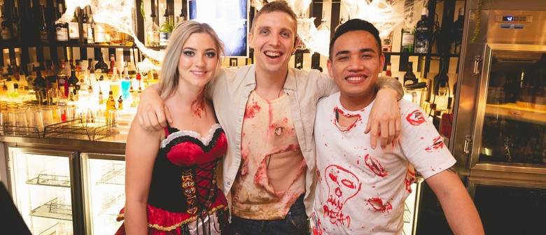 Cheeky Bueno Halloween/Day of the Dead Party on the Rooftop