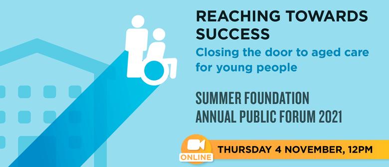 Summer Foundation Annual Public Forum