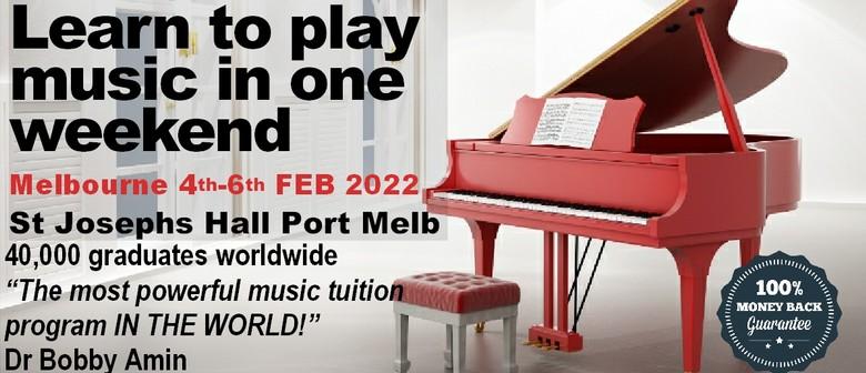 Understanding Music Seminar - Melbourne 2022
