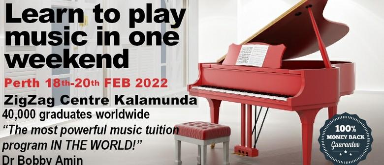 Understanding Music Seminar - Perth 2022