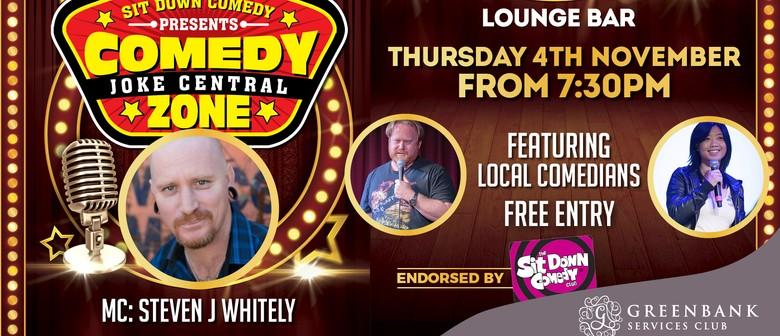 Sit Down Comedy Club - Comedy Zone