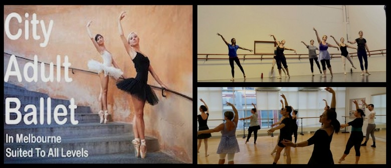 City Adult Ballet Classes in North Melbourne
